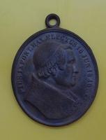 Медальон Пий IX, великомученики крестившие Японию