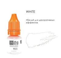 """White, пигмент для декоративных эффектов ПМ, """"Wizart"""" 5ml"""