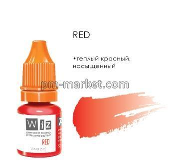 "Red, пигмент для ПМ губ, ""Wizart"" 5ml"