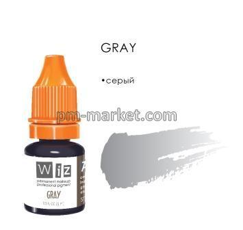 """Gray, пигмент для ПМ век, """"Wizart"""" 5ml"""