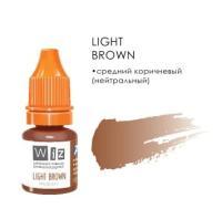 "Light Brown, пигмент для ПМ бровей, ""Wizart"" 5ml"