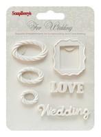 Набор полимерных фигурок Свадьба 3