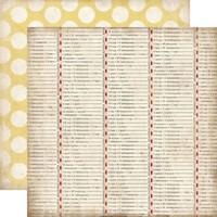 Бумага для скрапбукинга 30х30 см Conversion Table