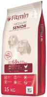 Сухой корм для пожилых собак Fitmin medium senior 15кг