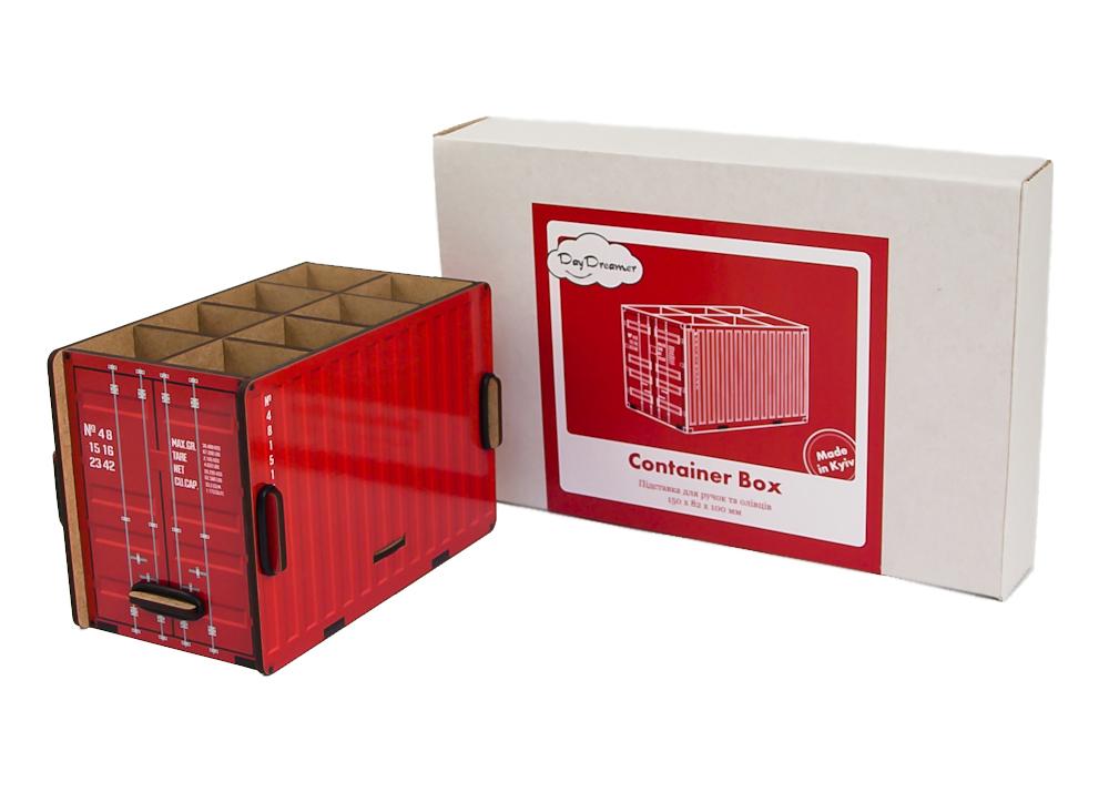 Органайзер для ручек Контейнер (красный) – Container Box