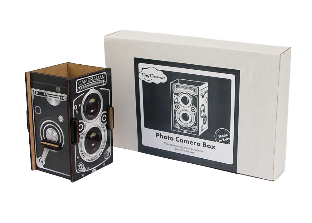 Органайзер и фирменная упаковка  Фотокамера - Photo Camera Box