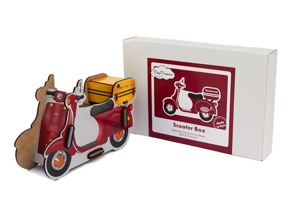 Органайзер для ручек и карандашей Скутер – Scooter Box