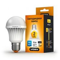 Лампа светодиодная (LED) VIDEX A60b 9w E27 3000k 220V