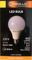Лампа светодиодная (LED) Realux 7w E27 3000k 220V
