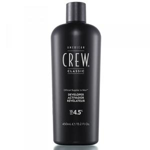 American Crew Precision Blend Developer 15 Vol 4.5% Проявитель Американ Крю Для системы маскировки седины 450ml.