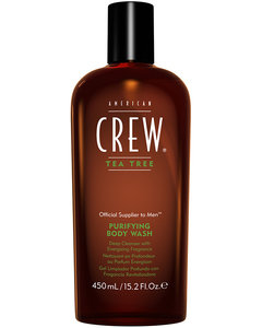 American Crew Tea Tree Body Wash Гель для душа Американ Крю На основе чайного дерева 450ml.