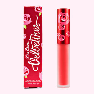 Lime Crime suedeberry (coral red) Лайм крайм Кораллово-красный