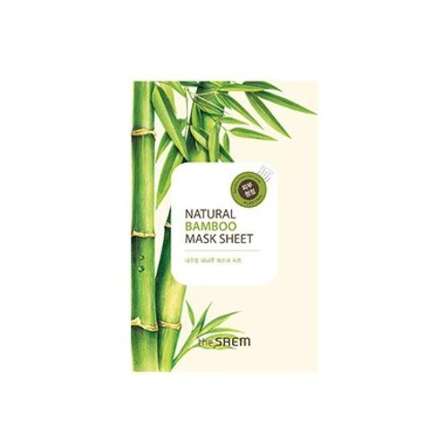 Маска тканевая с экстрактом бамбука The Saem Natural Bamboo Mask Sheet