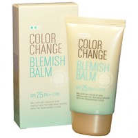 CC крем Welcos Lotus Color Change BB Cream SPF 25 PA++ 50 мл