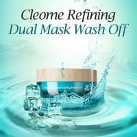 Маска для лица с экстрактом клеомы двухкомпонентная The Saem Cleome Refining Dual Mask Wash Off 50 мл