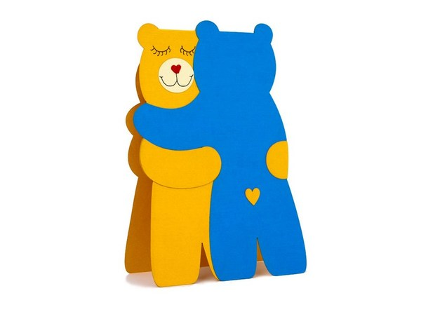 """Bearhugs textured"" Card"