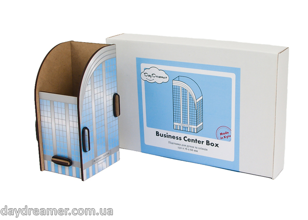 pen holder  business center box, pencil holder, office desk organizer, stationary, constructor, daydreamer