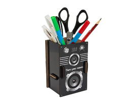 Pen Holder - Speaker Box