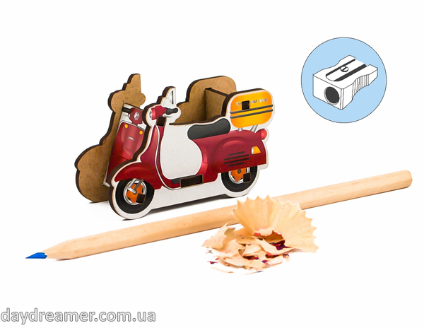 Pencil Sharpener - Scooter