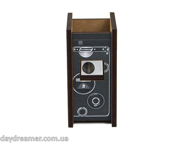 pencil sharpener foto camera, rolleiflex, stationary, daydreamer shop, made in ukraine