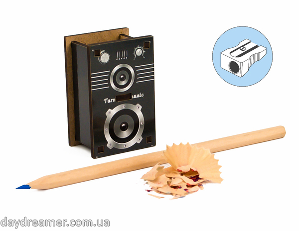 Pencil Sharpener - Speaker