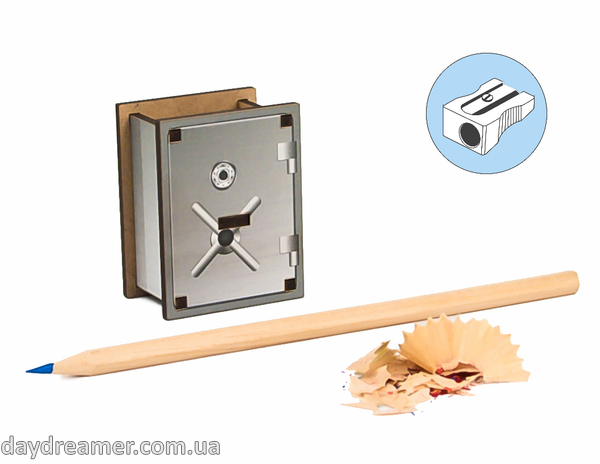 Pencil Sharpener - Safe