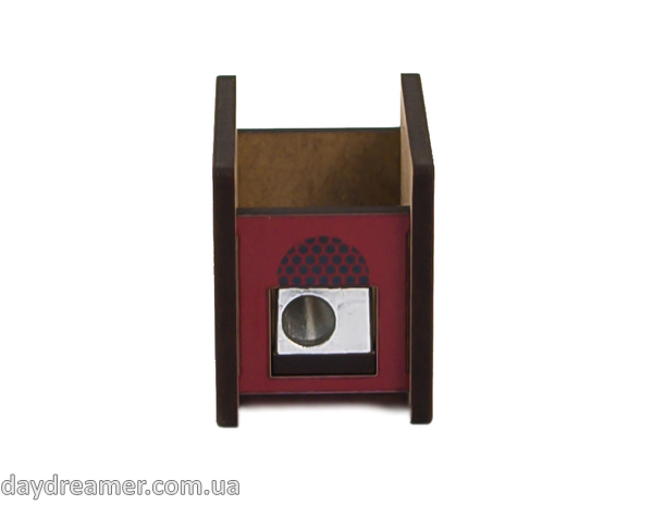 pencil sharpener vintage radio, stationary, daydreamer shop, made in ukraine