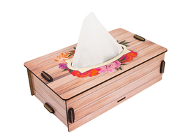 Flowers Napkins Box