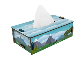Mountains Napkins Box