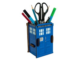 Pen Holder - Police Box