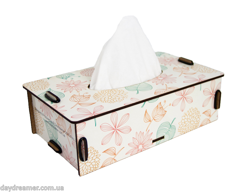 Napkins Box - Spring