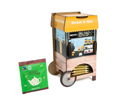 Tea Bags Dispenser - Street Cafe