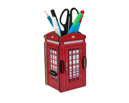 Pen Holder - London Telephone Box