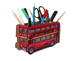 Pen Holder - London Bus Box