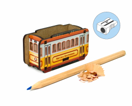 Pencil Sharpener - Retro Tram