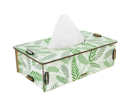 Napkins Box - Tropical Leaf