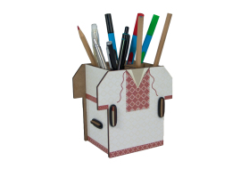 Pen Holder - Vyshyvanka Box