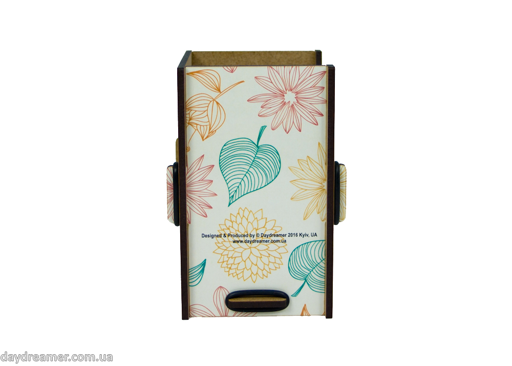 Dispensers for panty liners Spring Leaves, daydreamer shop, made in ukraine