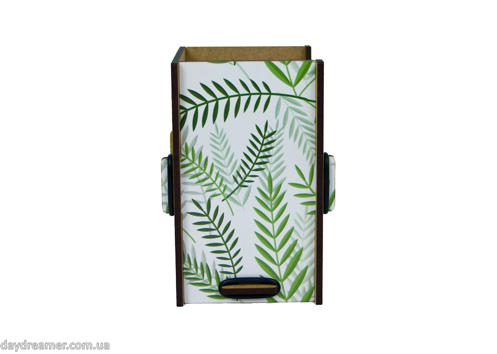 Dispensers for panty liners Tropical Leaves, daydreamer shop, made in ukraine