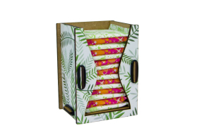 Dispensers for panty liners Tropical Leafs
