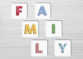Coasters Family 6pc