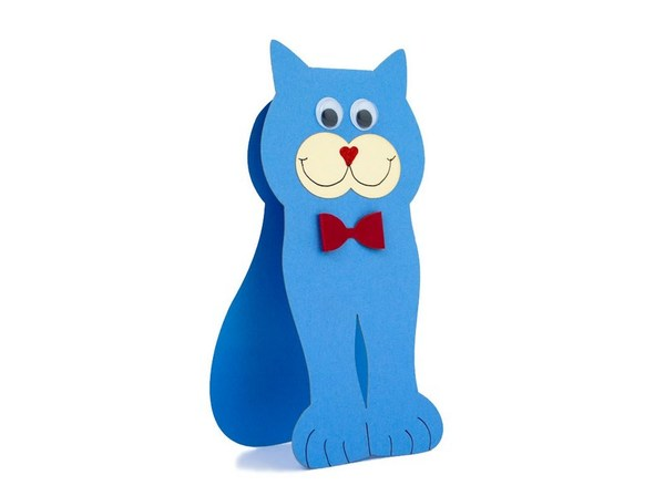 """Blue Cat"" Card"