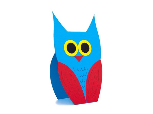 """Blue Owl"" Card"