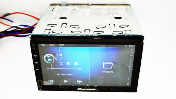 2din Pioneer Pi-707 GPS/WiFi/4Ядра/770Mb RAM/2Gb ROM/Android 5.1