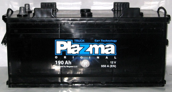 Plazma Original 190Ah R+ 950A