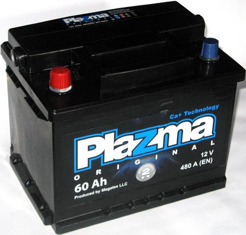 Plazma Original 60Ah L+ 480A