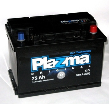 Plazma Original 75Ah R+ 540A