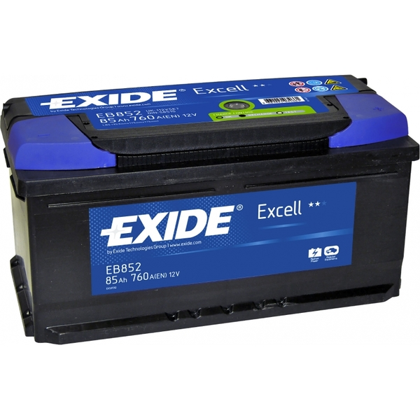 EXIDE Excell 85Ah R+ 760A