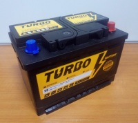 TURBO 75Ah R+ 760A